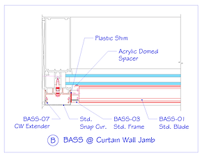 BASS at Curtain Wall Jamb