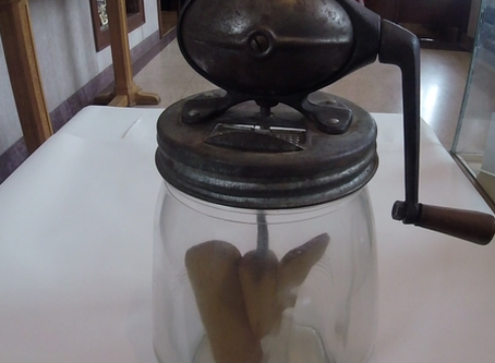 Into the Collections: Antique Butter Churn