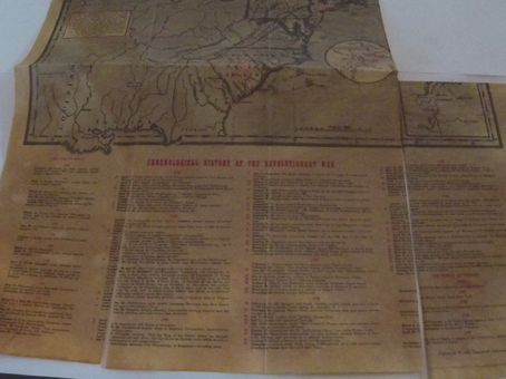 Into the Collections: Revolutionary War Battle Map