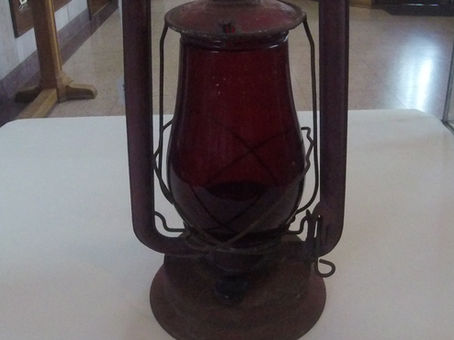 Into the Collections: Railroad Lantern