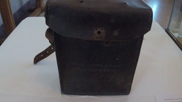 Into the Collections: WWII Communications Telephone