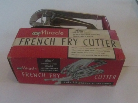 Into the Collections: French Fry Cutter