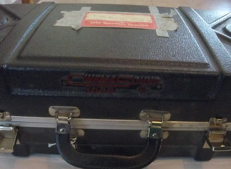 Into the Collections: Cinemasound 3000 Projector