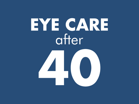 Eye Care After 40