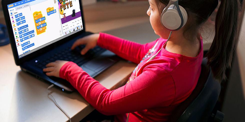 Curs Online Live! - Scratch Game Design / 8 - 12 ani