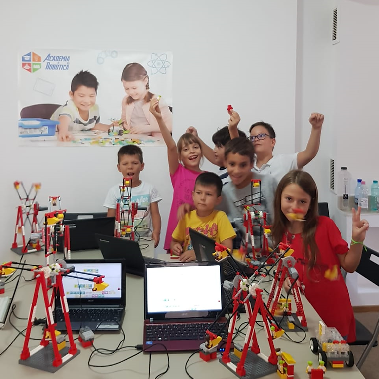 Robotica City Fun - Intermediar / 7-9 ani