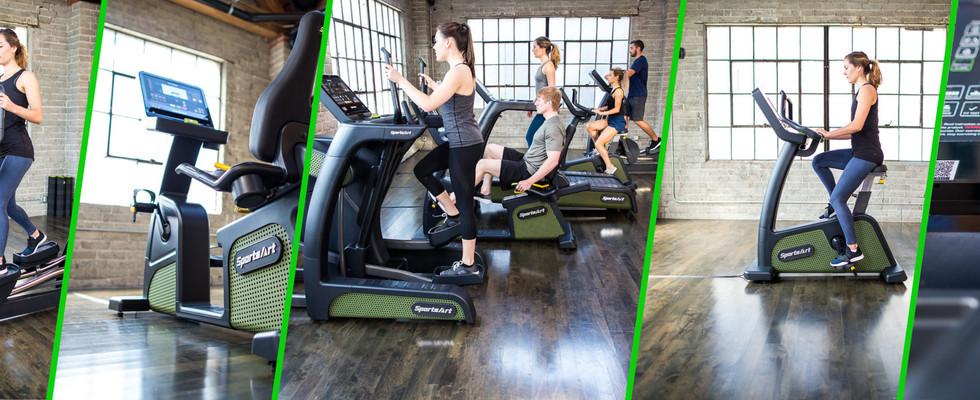 SA Green Fitness _ Sports Art _ ECO POWR