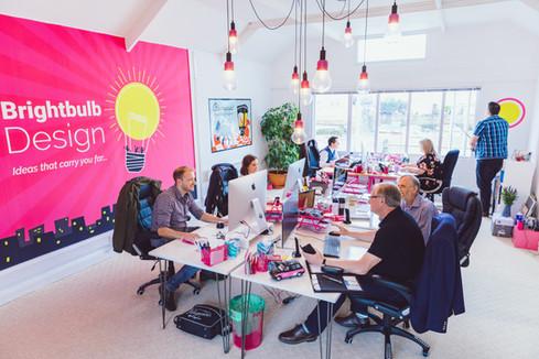 Brightbulb New Office Meeting Room