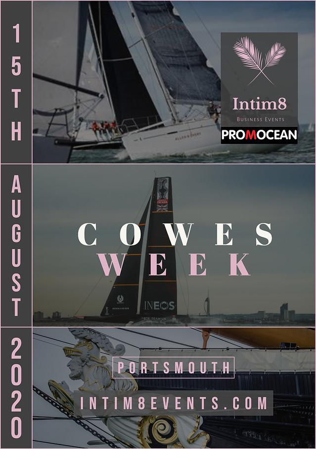Intim8events & Promocean Cowes Week