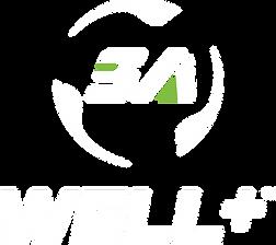 SA WellPlus Stacked Logo_White-Green