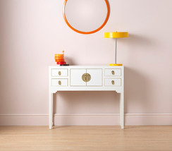 Qing White Small Console Table