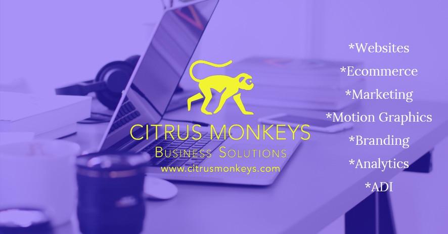 Citrus Monkeys - Websites - Ecommerce