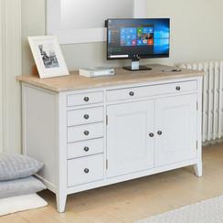 Greyland Hidden Home Office Desk
