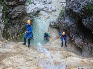 Intim8 Events - Sportsmix Bovec -canyoni