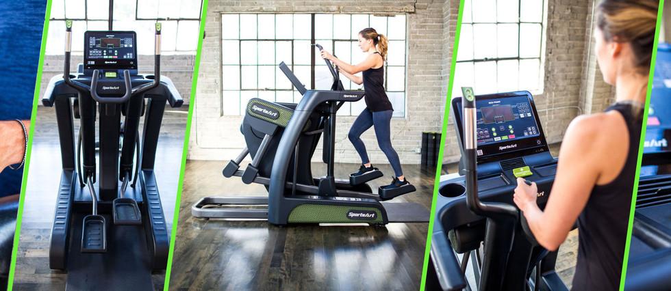 SA Green Fitness  _ Sports Art _ Eco Pow