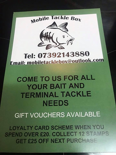 Mobile Tackle Box - West Sussex & Hampshire