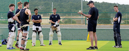 LMC Training Camp Cricket Scotland - Ped