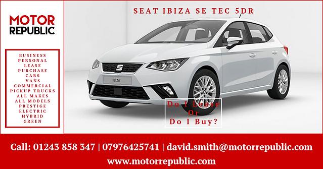 Motor Republic Portsmouth & IOW - SEAT I
