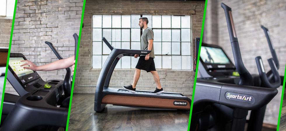SA Green Fitness  | Sports Art | Eco Natural  | G685 Verde Treadmill