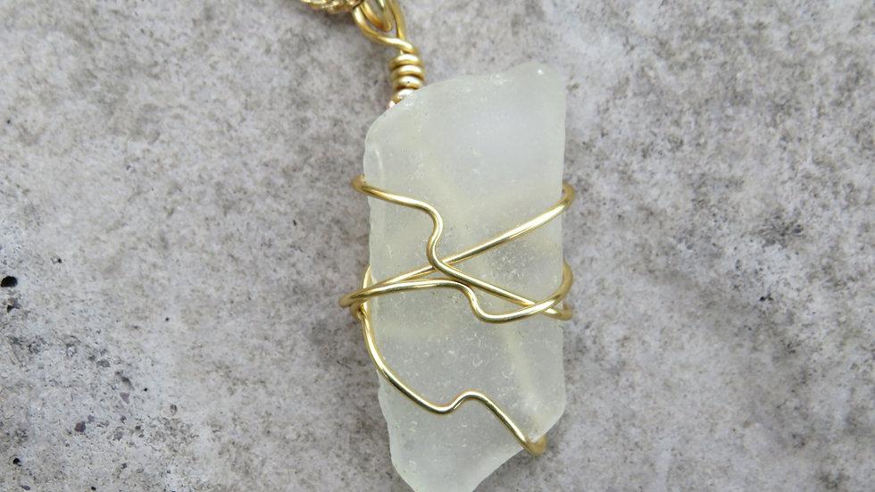 Sea Glass Necklace M