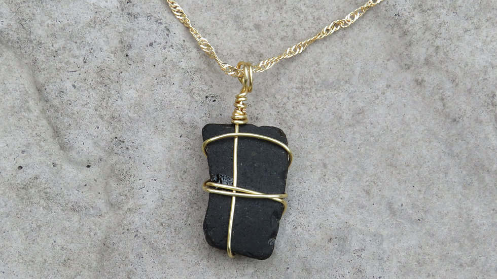 Sea Glass Necklace I