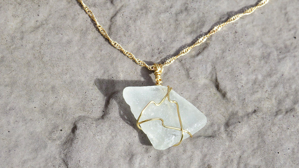 Sea Glass Necklace G