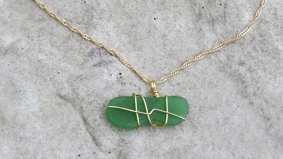 Sea Glass Necklace B