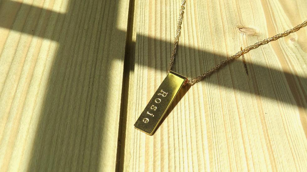 Custom Bar Necklace
