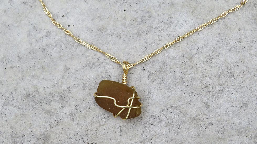 Sea Glass Necklace P