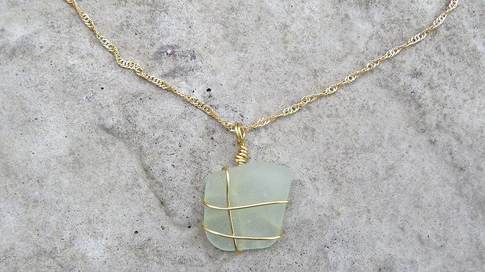 Sea Glass Necklace V