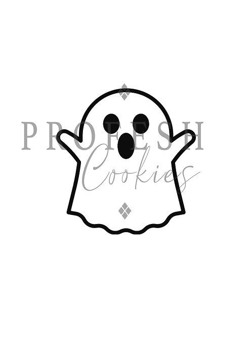 Ghost Royal Icing Transfer Sheet