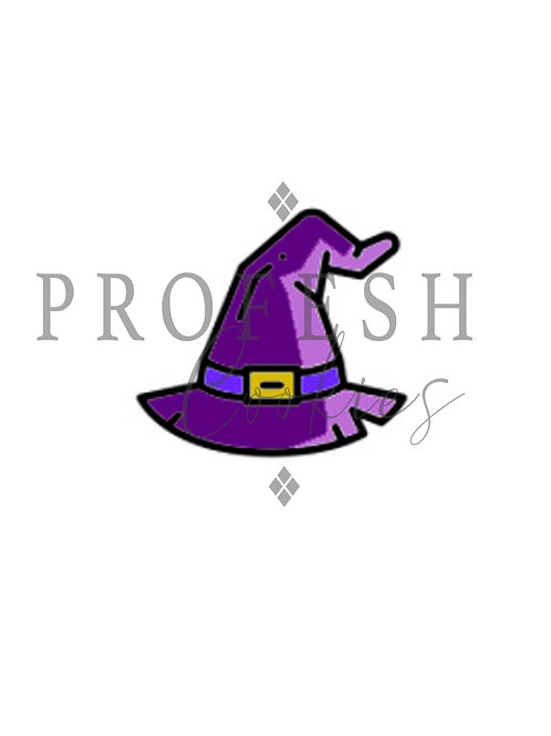 Witches Hat Royal Icing Transfer Sheet