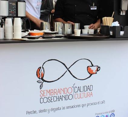 Exhibición de café