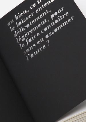 Fragments d'un discours amoureux - Design éditorial