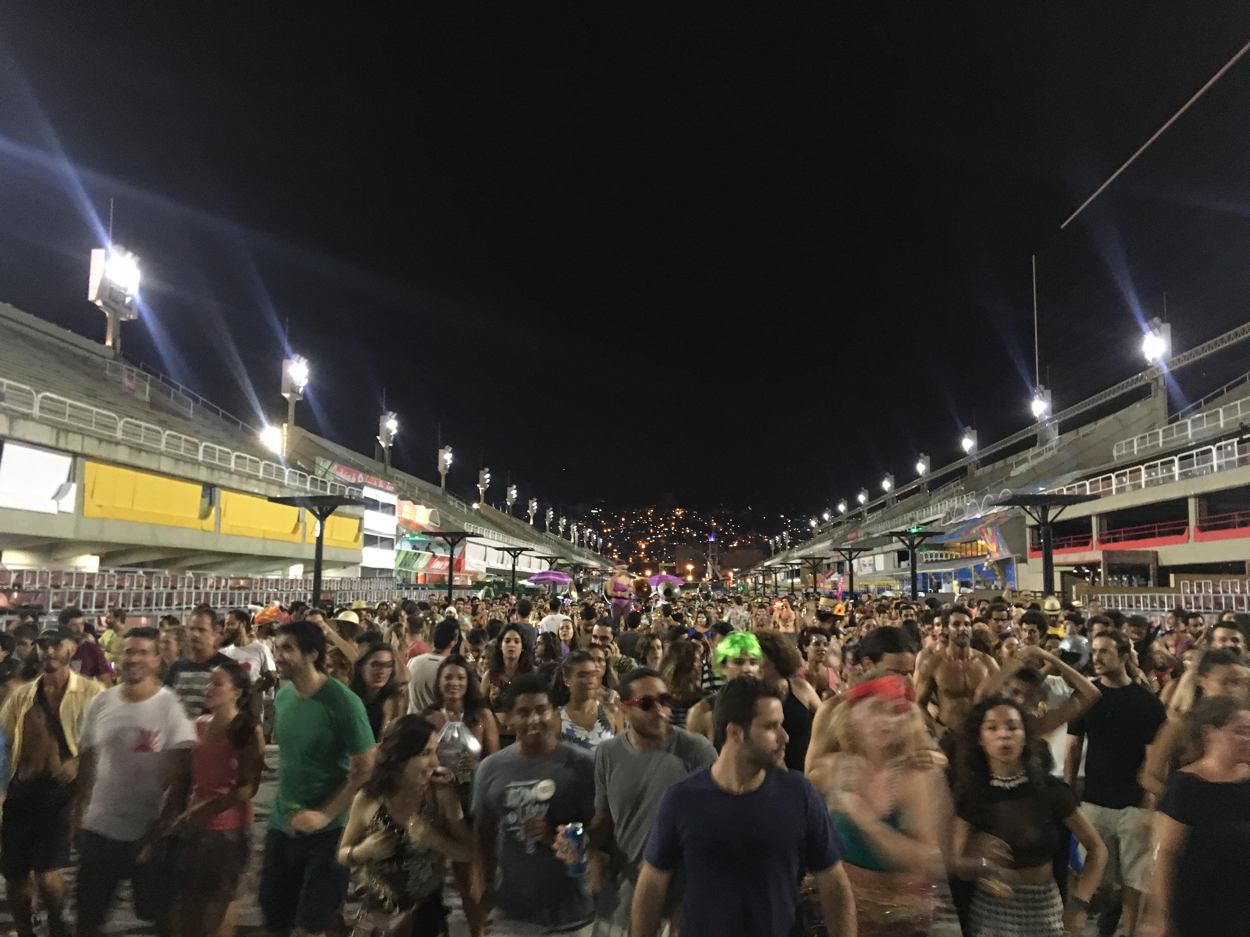 Riowakening Technobloco Sambadromo