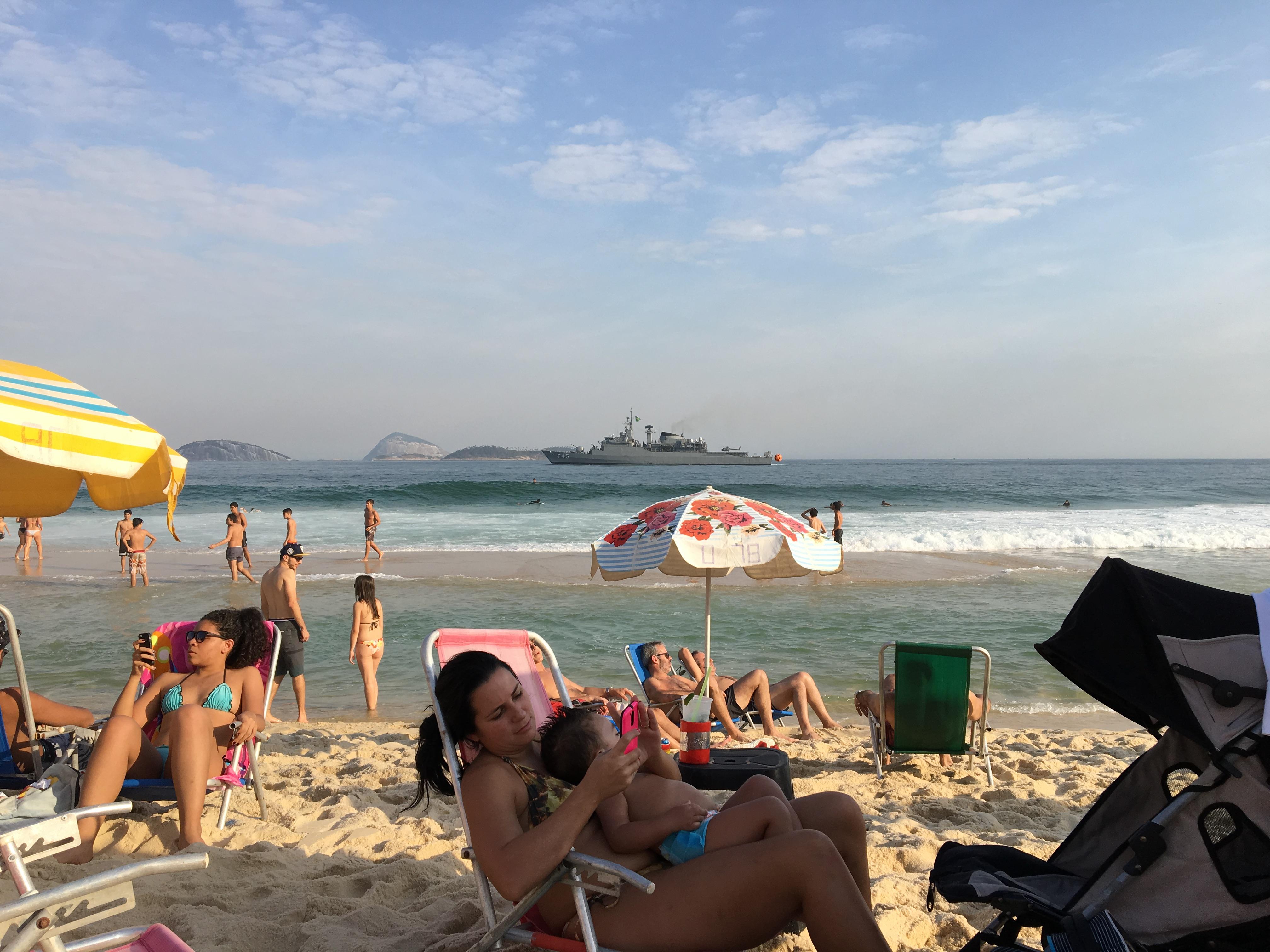 Riowakening Ipanema Beach