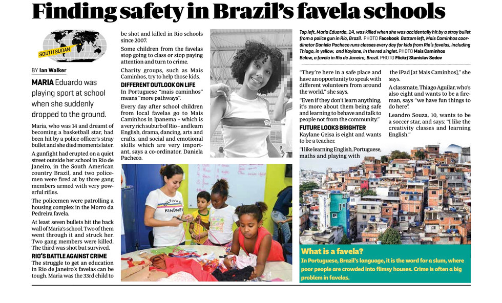 The battle for school children learning in Rio's favelas
