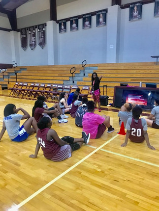 DDC Leadership and Team Building with Waller Girls Basketball Team  #effectivecommunication