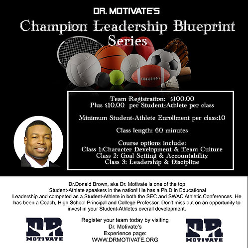 DEPOSIT- 100%Plus! Champion Leadership Blueprint Series