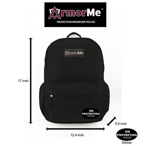 Single Bullet-resistant Panel Backpack