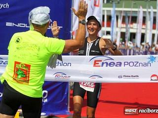 Zwycięstwo w ENEA Poznań Triathlon