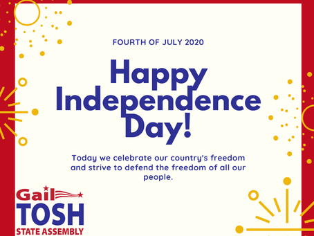 As we celebrate Independence Day, we must recognize how much work is still ahead of us