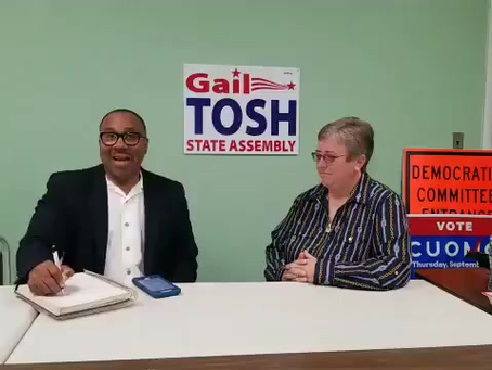 Video Interview: Inspiration for the Nation's George Kilpatrick w/ Gail Tosh