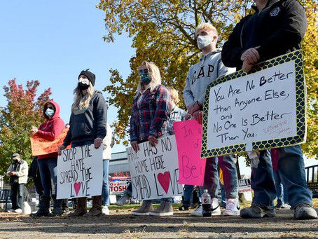 Central NY Democratic candidates host 'anti-hate' rally in Pulaski