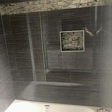 Wood Shadows Bathroom Remodel