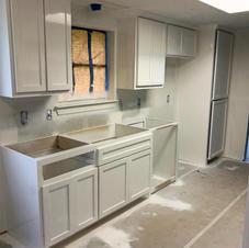 Wood Shadow Kitchen Remodel