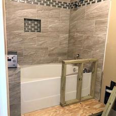 Vanishing Bathroom Remodel
