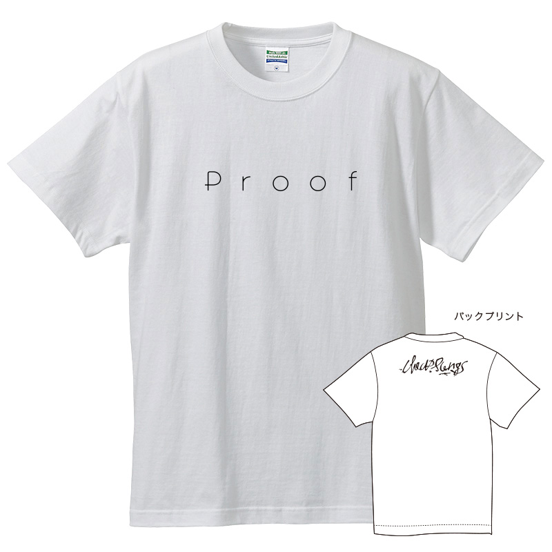 Proof ロゴ Tシャツ