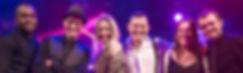 Steve Turner, Lorna Blackwood, James Robinson, Caron Robinson, Jimmi Clarke play for Playback live party band