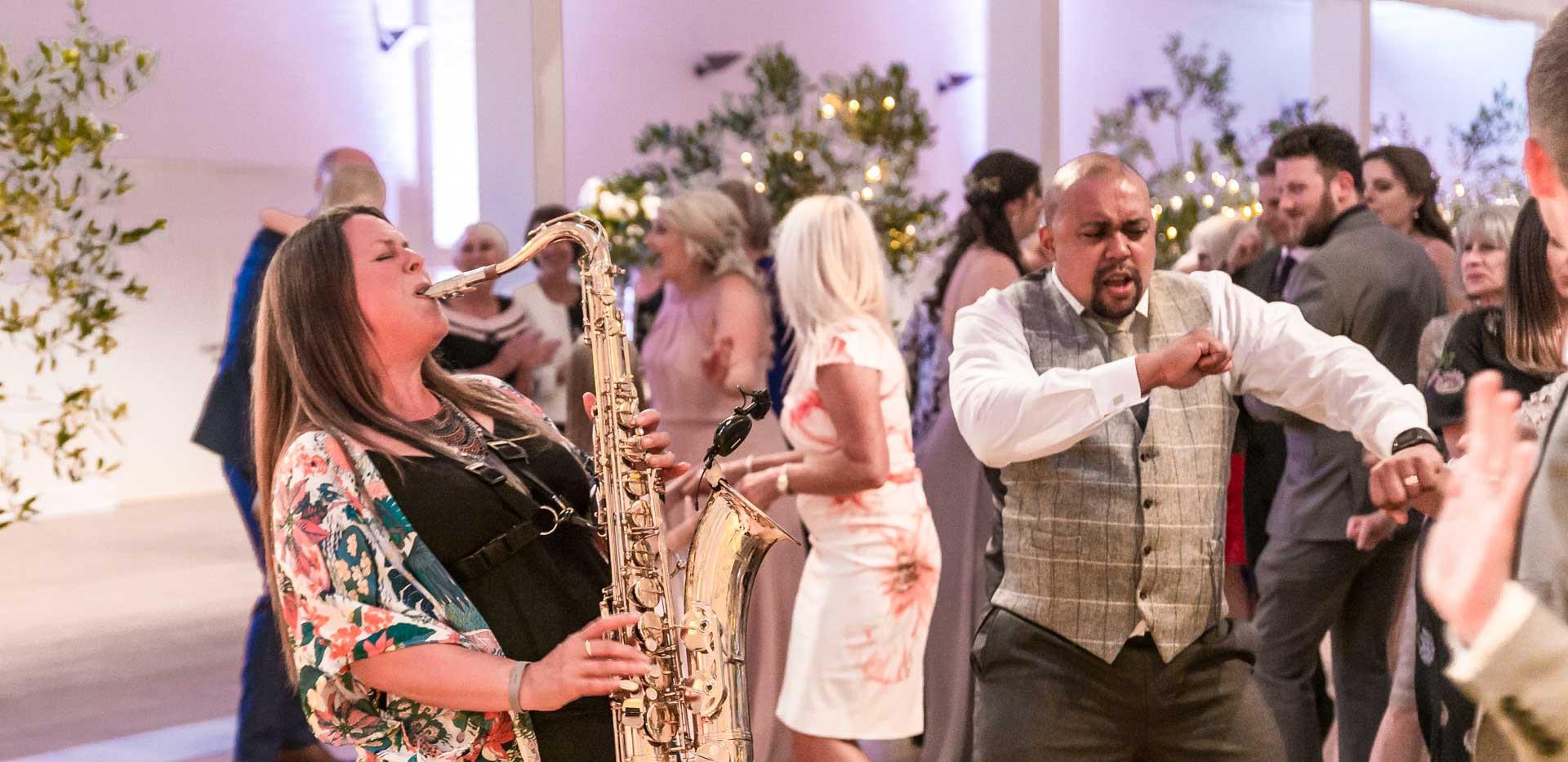 Caron Robinson, Saxophonist for Playback